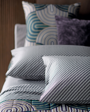Sheet set Blues for double bed