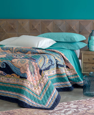 Bedspread Cachemire double bed