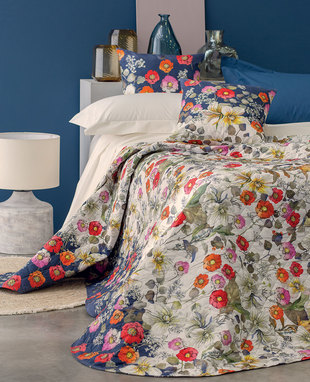 QUILTED BEDSPREAD FIORILE